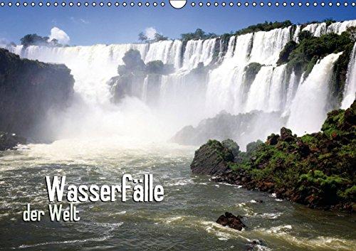 Wasserfälle der Welt (Wandkalender 2015 DIN A3 quer): Ein Klang wie Donnerhall (Monatskalender, 14 Seiten) (Klang-wasserfall)