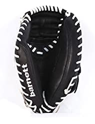 barnett GL-203 gant de baseball cuir de catch pour adulte 20,3, pour droitier REG, noir