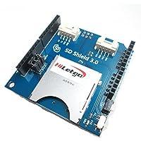 HiLetgo - Tarjeta SD apilable y tarjeta TF para Arduino UNO R3 Arduino Mega 2560