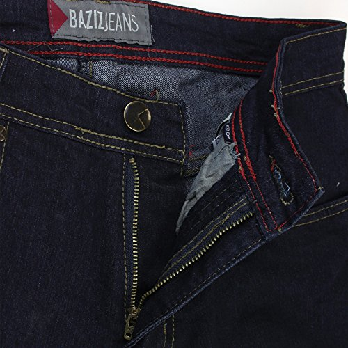 247 JEANS - Herrenjeans, Stretch, Modern Fit, Medium Blue Denim, Baziz S20, B31S20001 Dark Blue Denim