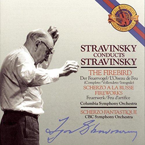 Stravinsky: l'Oiseau de feu (ballet intégral) ; Scherzo à la Russe ; Feu d'artifice [Import USA]