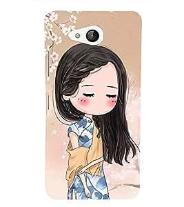 GIRLY Designer Back Case Cover for Microsoft Lumia 650