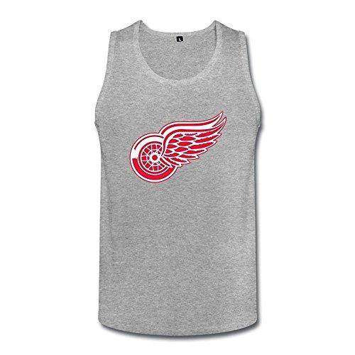 Herren's Detroit Red Wings Team Logo Vintage Tank Top Medium (Vintage Red Wing)