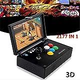 Dedeka Pandora Spielkonsole, Spielkonsole Retro Tragbare Spiele Konsolen, Spielmaschine eingebaut mehr als 2177 Video-Gaming, LCD HD Bildschirm Arcade Erholung System