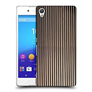 Snoogg Black Strips Designer Protective Phone Back Case Cover For Asus Zenfone 6