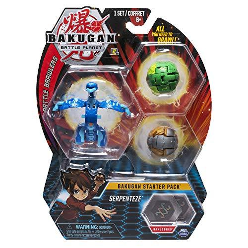 BAKUGAN- Starter Pack de 6 Serpenteze, (Bizak 61924426)