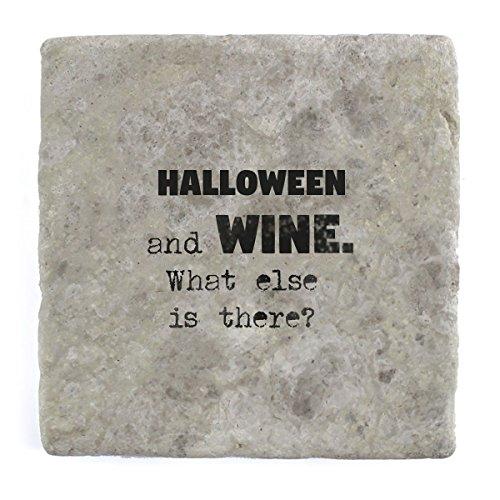 as ist noch?–Marble Tile Drink Untersetzer (Ist Halloween Noch)