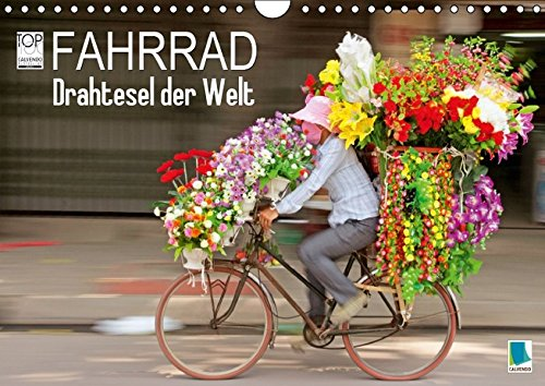 Preisvergleich Produktbild Fahrrad - Drahtesel der Welt (Wandkalender 2016 DIN A4 quer): Fahrrad: Mehr als ein Fortbewegungsmittel (Monatskalender, 14 Seiten) (CALVENDO Mobilitaet)