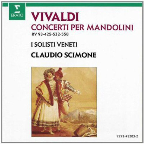 Vivaldi - Concertos pour mandolines / I Solisti Veneti, Scimone