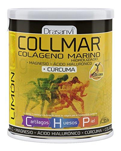Drasanvi Collmar Colageno Magnesio + Acido Hialuronico + Curcuma 300 gr  Limon