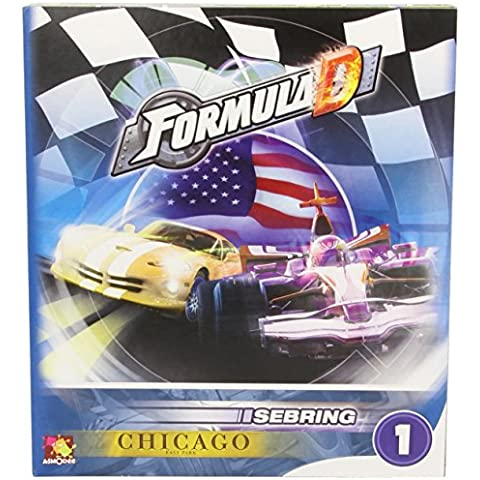 Asmodee 200663 - Formula D Erw. 1 - Sebring/Chicago (Espansione) - [Importato da Germania]