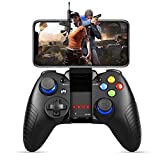 Controller di gioco mobile, PowerLead PG8710 controller di gioco Gamepad Wireless 4.0 compatibile con iOS Android iPhone iPad Samsung Galaxy
