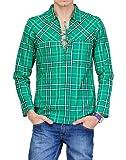 Yepme Ryan Kurta Shirt - Green - YPMKURT...