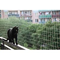 Red gatos y aves balcón 5x5Mt + 50 fijaciones