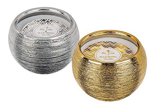 8 Kerzen House Warming Vanille im Topf 8,5×5,5 cm Aromakerze Duft Kerze Deko
