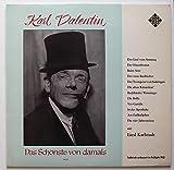 """Valentin, Karl / Karlstadt, Liesl / Das Schönste von damals / 1939 / Bildhülle / TELEFUNKEN # HT-P 508 / Deutsche Pressung / 12"""" Vinyl Langspiel-Schallplatte / Technisch verbessert im Frühjahr 1963 / Historische Aufnahme /"""