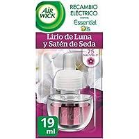 Air Wick Ambientador Electrico Recambio Lirio de Luna, 19 ml - Pack de 6