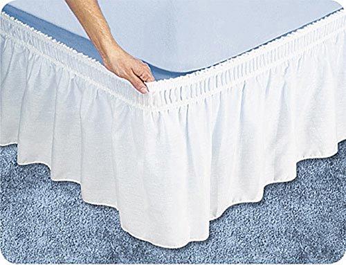 Scala 1PCs Wrap Around gonna letto(Bianco solido