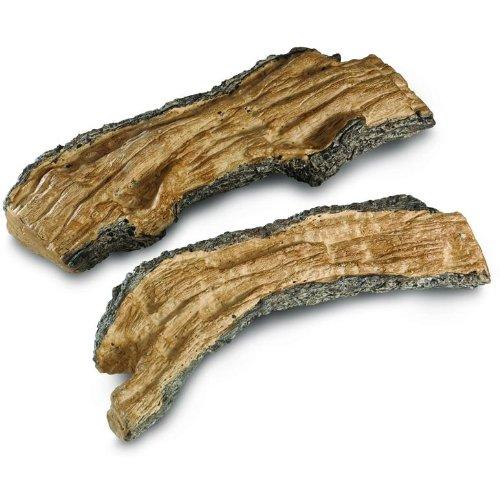 Peterson registros de Gas decorativos Especial Dividir troncos–Set de 2