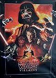 Star Wars Keilrahmen Bild 50x70cm auf Leinwand (Nr.4 Star Wars Villains)