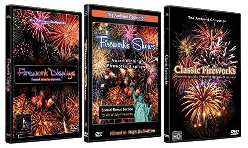 Juli 3 Licht (Feuerwerk DVD Supersale Kollektion - 3 Disc Set von preisgekrönten HD Feuerwerk Videos für Party oder andere Feiern)