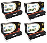 Catch Supplies Replacement HP 201X toner cartridge 4 pack set |Black CF400X, Cyan CF401X, Yellow CF402X, Magenta CF403X| compatible with the HP Color LaserJet Pro M252dw, M252n, MFP M277dw, M277n by Catch Supplies