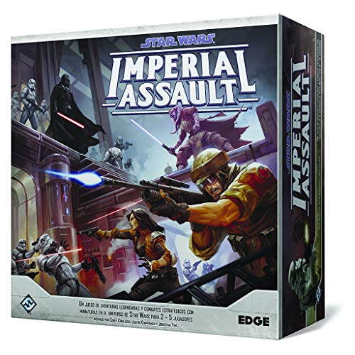 Comprar juego de mesa: Fantasy Flight Games- Star Wars Imperial Assault (Edge Entertainment EDGSWI01)