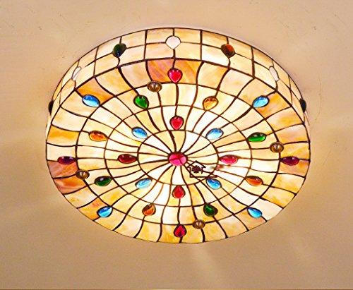 Tiffany Pteris Shell Decke LED Beleuchtung Schlafzimmer Decke Wohnzimmer  Cozy Hotel Zimmer Und Ville