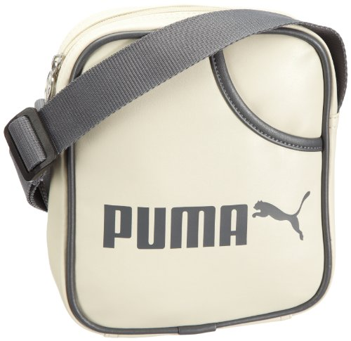 PUMA Uni Umhängetasche Campus Portable, italian plum-birch, UA, 2 liters, 070392 04 birch-castlerock