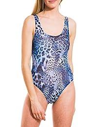 fe4636e226389e Kiniki Spa Tan Through Sonnendurchlässiger Badeanzug mit rundem Ausschnitt