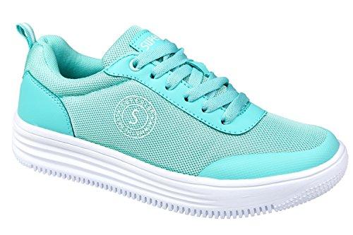gibra, Sneaker donna verde menta