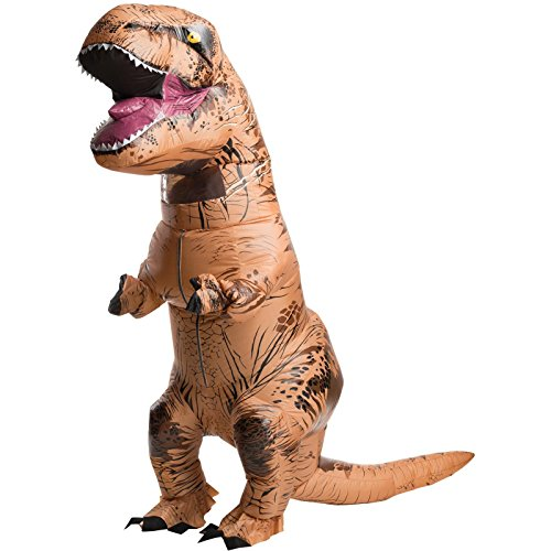AUFBLASBAR Dinosaurier T-REX© ERWACHSENE Kostüm Jurassic Park Blowup Party carryme (Jurassic Park Kostüm Für Erwachsene)