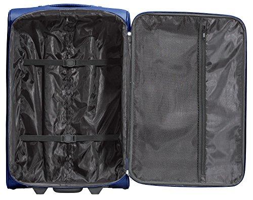 Packenger Lite Traveller Koffer Größe XL in Blau. Die Abmessungen sind  75x47x29cm. - 3