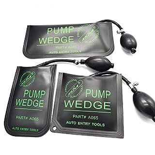 MICG Air Wedge Car Door Opener Inflatable Shim Cushioned Powerful Hand Pump Locksmith Tools(3pcs/lot)