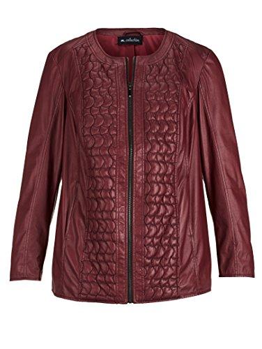 Damen Jacke aus Lederimitat by m. collection Bordeaux