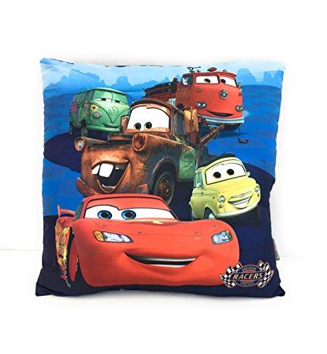 Cuscino a fantasia per bambino – 35 x 35 cm – motivo; Cars Disney – Flash Mc Queen