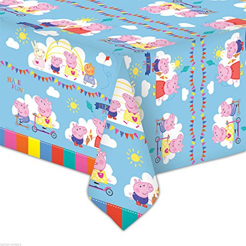 Image of Peppa Pig Plastic Tablecover – 138cm x 183cm