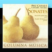 Sonates - Pau Casals, Gaspar Cassado & Eduard Toldra