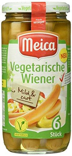 Meica 6 Vegetarische Wiener,  200 g (Wurst Vegetarische)