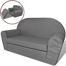 vidaXL Kindersofa mit Bettfunktion Schlafsofa Kinderzimmer Sofa Sessel mehrere Auswahl