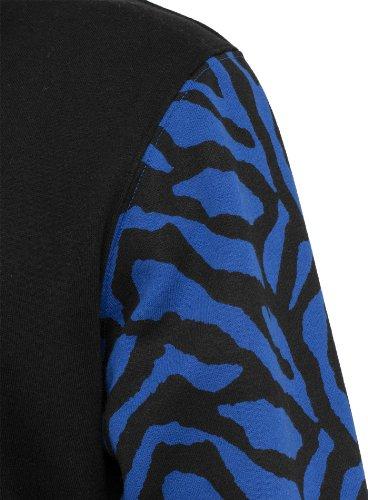 Urban Classics Herren College Jacke 2-Tone Zebra Roy/Blk