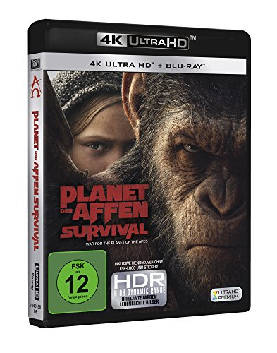 Planet der Affen: Survival – Ultra HD Blu-ray [4k + Blu-ray Disc] - 2