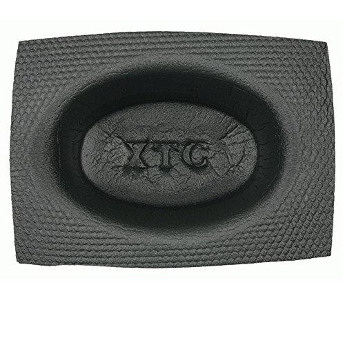 Metra VXT46 - Kfz Lautsprecher-Schutzgehäuse aus Schaumstoff (oval/tief/Ø 10x15cm/ Paar) für bessere Akustik & Schutz vor Wasser, Rost, Staub für Einsatz z.B. in Auto, Boot, Spa, Terrasse, UVM.