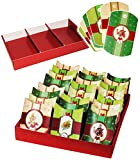 Unbekannt Weihnachtskalender - 24 Geschenkboxen / Adventskissen / Boxen -  Weihnachten  - Schachteln zum Befüllen + Zahlen - selber Basteln - für Erwachsene / Kinder ..
