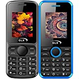 GLX W5 & W8, Basic Feature Mobile Phone, Combo Of 2 (Black+Blue)