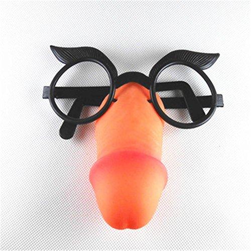 MFFACAI Halloween Fool 's Day Ganzes Gläser Spielzeug Lustige Lustige Brille Adult Entertainment Gläser, Big Bird Glasses (Big Bird Kostüm Kinder)