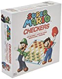 USAopoly USOCK005191 Bros Super Mario Checkers, Colores Variados