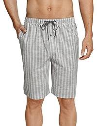 Schiesser Herren Schlafanzughose Long Boxer mit Hasenmotiv Mix /& Relax 157257