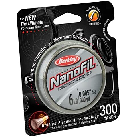 Berkley Nanofil Uni-filamento Lenza - 300 Yard (6-libbre di prova)