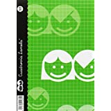 Lamela 68702 - Cuaderno básico, 40 hojas, 3 mm, tamaño A5